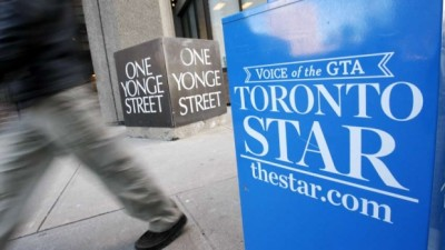 Toronto Star will lose 19 newsroom employees as its parent company Torstar is cutting more than 50 jobs.